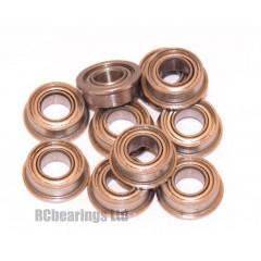 4x8x3 (CERAMIC MS) Flanged Bearing (x1) MF84czz