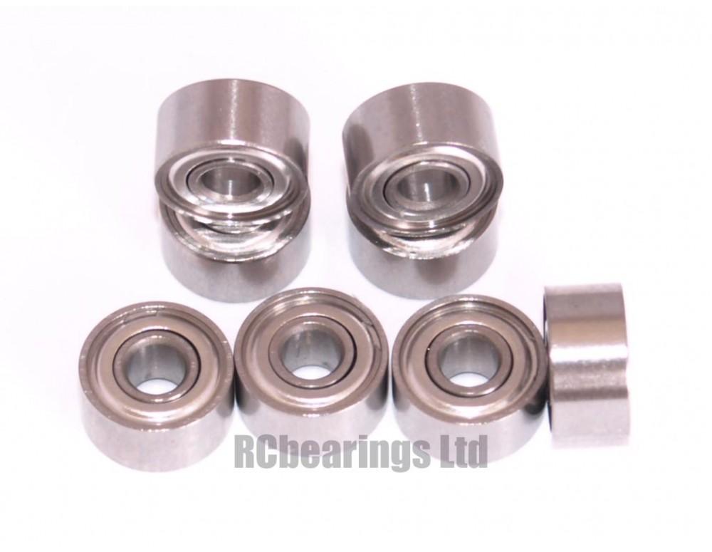 Dji phantom quadcopter ceramic motor bearings full set for Brushless motor ceramic bearings