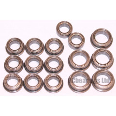 Team Associated RC10 chassis Re-Release FULL Bearing Set - RCbearings