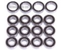Tamiya TT02B MS Chassis FULL Bearing Kit - RCbearings