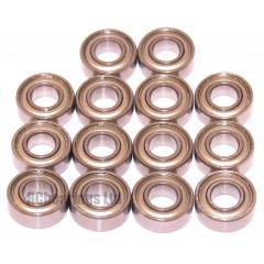 Tamiya 58610 Aqroshot DT03T FULL Bearing Kit - RCbearings