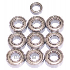 Tamiya 58205 Mad Bull FULL Bearing Kit - RCbearings