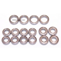 Tamiya 58671 TT02 RC Mazda 3 FULL Bearing Kit - RCbearings