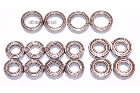 Tamiya TT02T Chassis FULL Bearing Kit - RCbearings