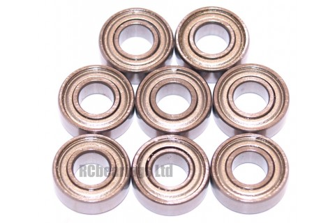Tamiya 56302 Box Trailer FULL Bearing Kit - RCbearings