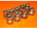 Pinion Gears 32DP 12T to 20T Hard Aluminium 7075 3.175 (1/8th) Bore