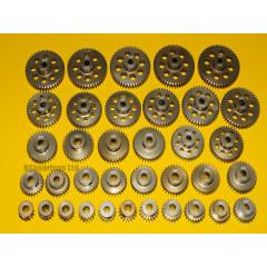 Pinion Gears 48DP 13T to 48T Hard Aluminium 7075 3.175 (1/8th) Bore