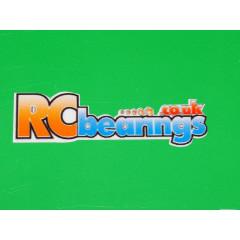 RCbearings.co.uk Sticker Small 14x50mm