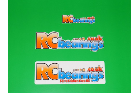 RCbearings.co.uk Sticker Pack x3