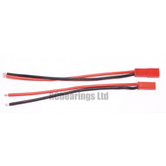 JST Style Male and Female Connectors 100mm 20awg
