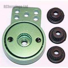 Aluminum Heavy Duty Servo Saver with 3 Adapters (Green)