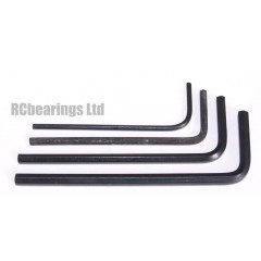 RCA Hex Wrench Set of 4 in sizes 1.5mm 2mm 2.5mm 3mm