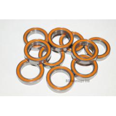 RCB 12x18x4 mm 6701rs Orange Seal ABEC 5 Bearings