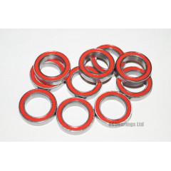 RCB 12x18x4 mm 6701rs Red Seal ABEC 5 Bearings