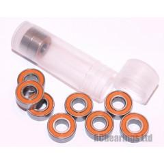 RCB 5x11x4 mm MR115rs Orange Seal ABEC 5 Bearings