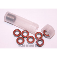 RCB 6x12x4 mm MR1262rs Red Seal ABEC 5 Bearings
