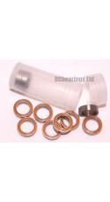 RCB 8x12x3.5 mm MR128rs Orange Seal ABEC 5 Bearings