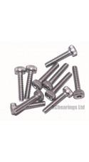 M2x10 Socket Cap Stainless Steel Screws x10