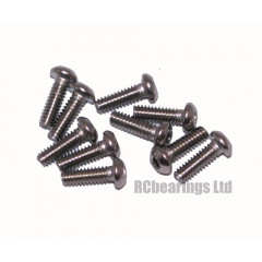 M2x6 Socket Button Stainless Steel Screws x10