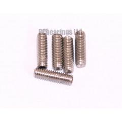 M3x10 Grub Screws Stainless Steel x5