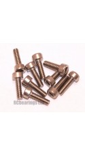 M3x10 Socket Cap Stainless Steel Screws x10