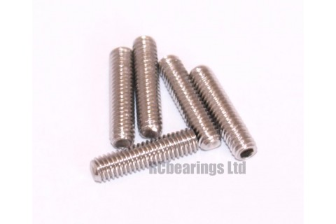 M3x12 Grub Screws Stainless Steel x5
