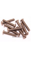 M3x16 Socket Button Stainless Steel Screws x10