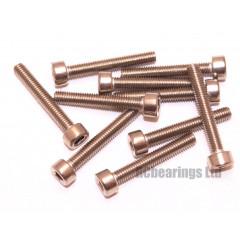 M3x20 Socket Cap Stainless Steel Screws x10