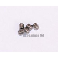 M3x3 Grub Screws Stainless Steel x5