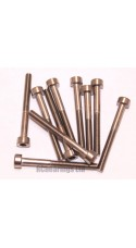 M3x30 Socket Cap Stainless Steel Screws x10