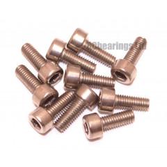 M3x8 Socket Cap Stainless Steel Screws x10
