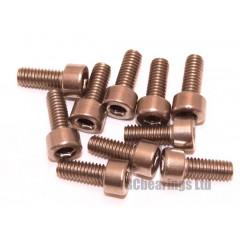 M4x10 Socket Cap Stainless Steel Screws x10