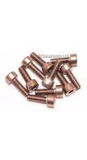 M4x12 Socket Cap Stainless Steel Screws x10