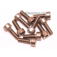 M4x12 Socket Cap Stainless Steel Screws x10