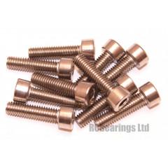 M4x16 Socket Cap Stainless Steel Screws x10