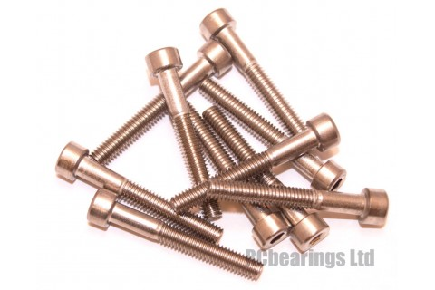 M4x30 Socket Cap Stainless Steel Screws x10