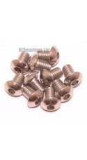 M4x6 Socket Button Stainless Steel Screws x10