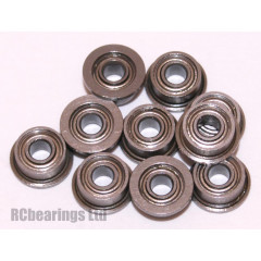 2x5x2.5 Flanged Bearing (x1) MF52zz