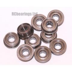 3x7x3 Flanged Bearing (x1) F683zz