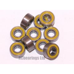 3x7x3 (RS) Bearing (x1) MR683rs MR6832rs