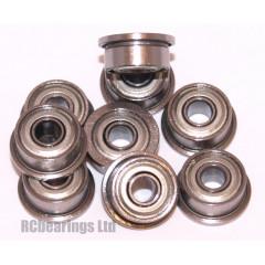 3x8x4 Flanged Bearing (x1) F693zz