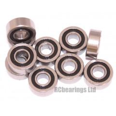 4x10x4 (RS) Bearing (x1) MR1042rs