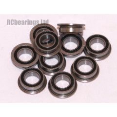 4x7x2.5 Flanged Bearing (x1) MF742rs