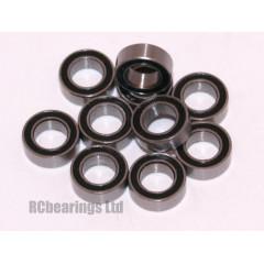 4x7x2.5 (RS) Bearing (x1) MR74rs