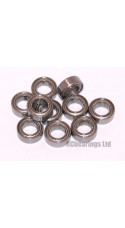 4x7x2.5 (MS) Bearing (x1) MR74zz