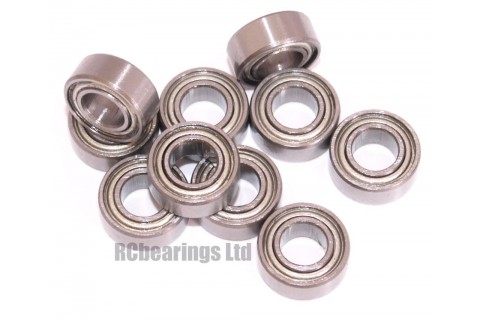 5x10x4 (MS) Bearing (x1) MR105zz