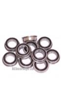 6x10x3 Flanged Bearing (x1) MF106rs