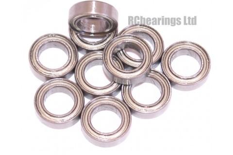 6x10x3 (MS) Bearing (x1) MR106zz