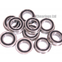 8x14x4 Flanged Bearing (x1) MF1482rs