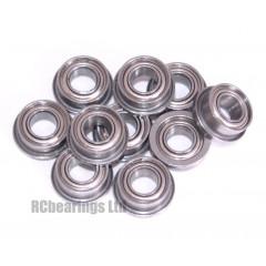 1/8x1/4x7/64 Flanged Bearing (x1) FR144zz